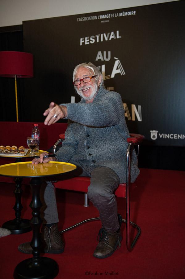 Pierre Richard - Invité d'honneur de la 1ère édition du festival Au-delà de l'Écran